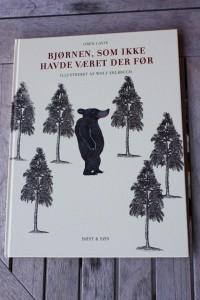 Bjørnen, som ikke havde været der før