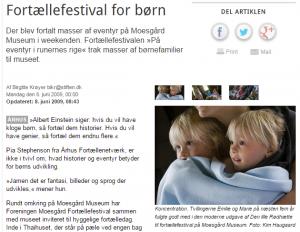 Fortællefestival for børn