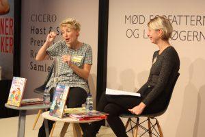 Anne Sofie Hammer og Lisa Gardum Andersen