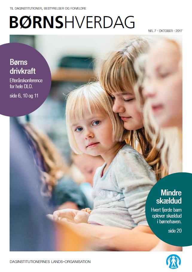 Forside af BØRNS hverdag nr. 7-2017